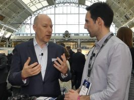 Claus Christensen, CEO at Know Your Customer Limited. Interview at Lendit conference in London 2018. Photo by: Via News Agency.