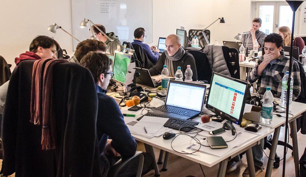 Berlin Startup Tour. Photo by: Heisenberg Media.