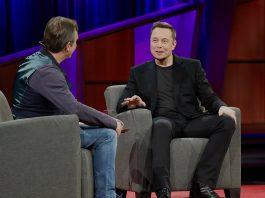 Elon Musk at TED 2017. Photo by: Steve Jurvetson.