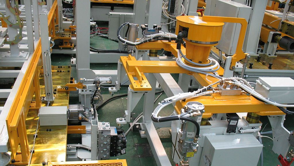 Manufacturing equipment. Image by: Mixabest.