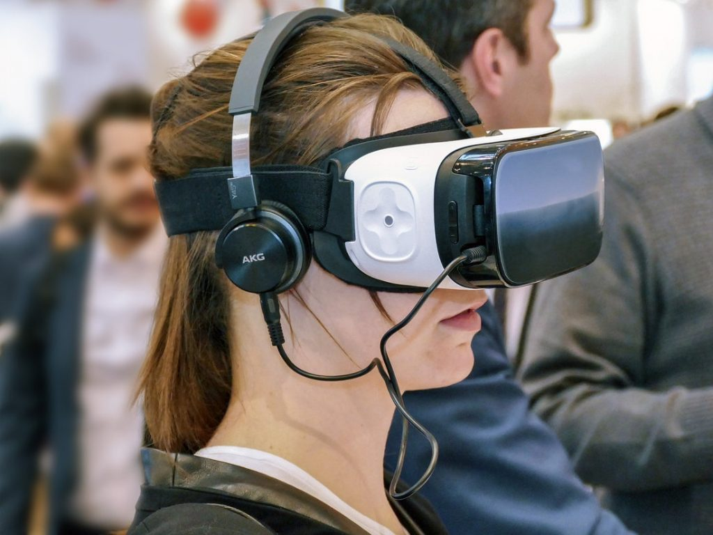 VR glasses by Facebook-owned Oculus VR is one of the leading companies in the VR industry.