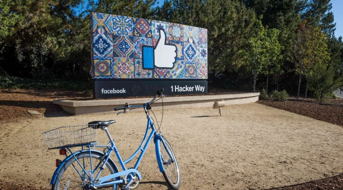 Facebook headquarters in 1 Hacker Way, Menlo Park, United States. Photo credit: Jimmy Baikovicius.