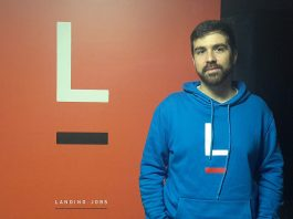 Pedro Oliveira, co-founder of Landing.jobs (Photo by Via News)