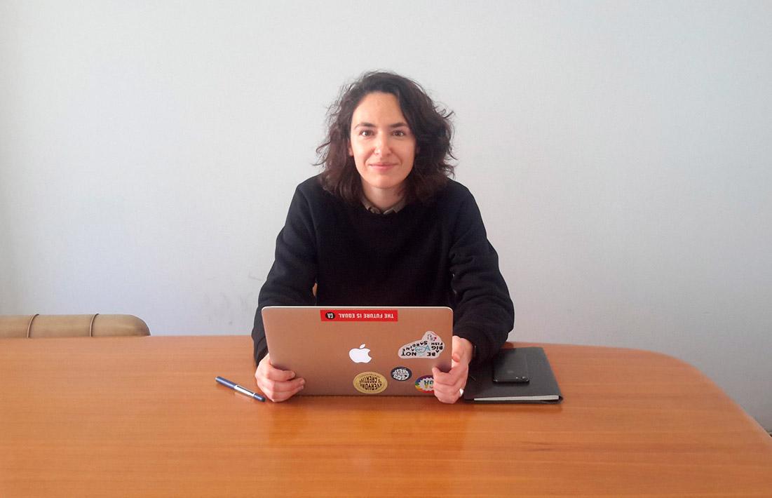 Filipa Manita, co-founder at Teamy (Photo by Via News)