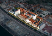 Hub Criativo do Beato, which is being constructed on the Tagus riverside in eastern Lisbon, will host Portuguese and foreign entrepreneurs. (Photo source: Startup Lisboa)