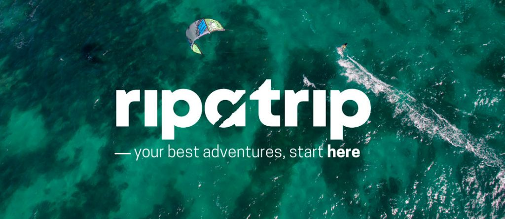 Ripatrip has launched first with kitesurf travel and plans to expand into skiing, surfing, hiking, and more in the near future. (Photo credit: ripatrip)