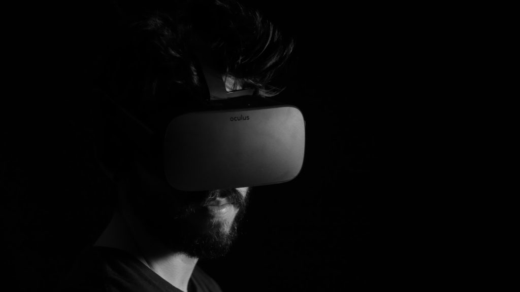 A growing number of companies are using the VR technology thanks to coronavirus-related shutdowns and restrictions. (Photo by Lux Interaction on Unsplash)