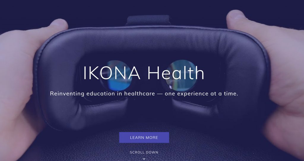 IKONA is reinventing education in healthcare with the help of virtual reality. (Photo credit IKONA)