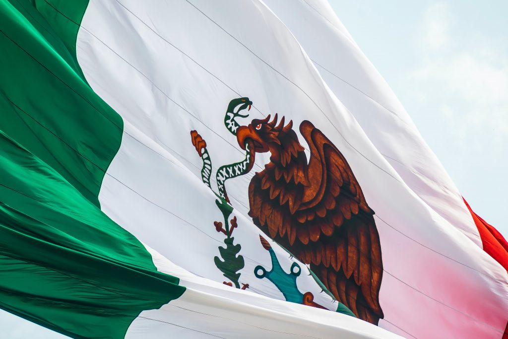 Flag of Mexico (Photo by Jorge Aguilar on Unsplash)