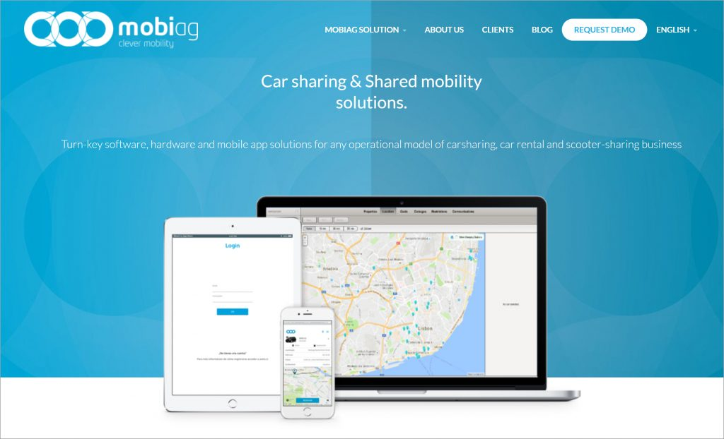 Mobiag is developing intelligent solutions for urban mobility. (Photo credit: Mobiag)
