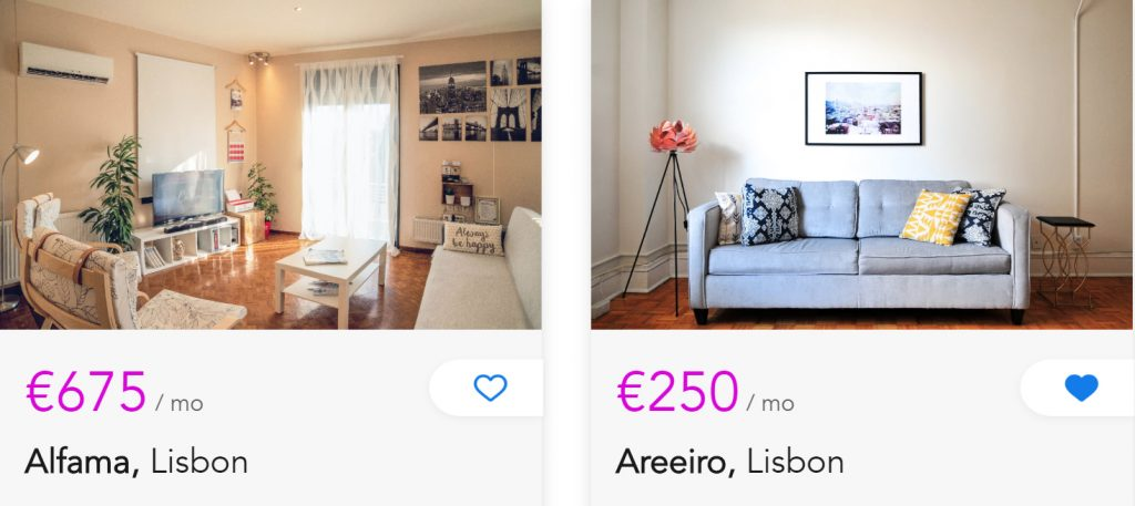 NomadX says the apartments featured on its platform are typically about half the price of Airbnb's listings. (Photo credit: NomadX)