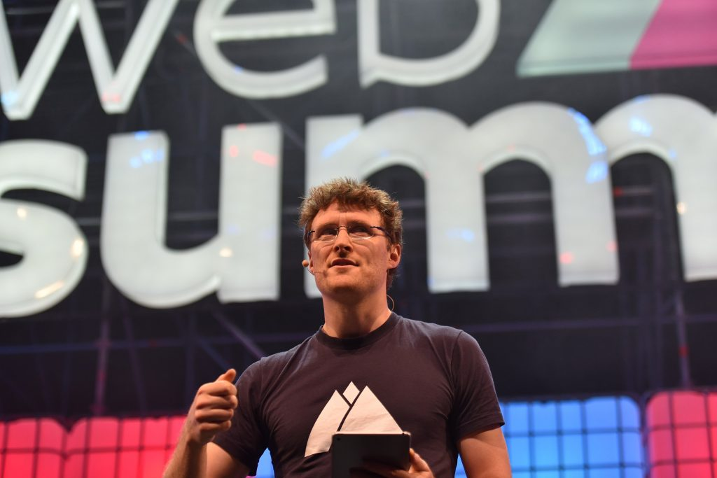 Web Summit's CEO and co-founder Paddy Cosgrave (Photo source: Web Summit)