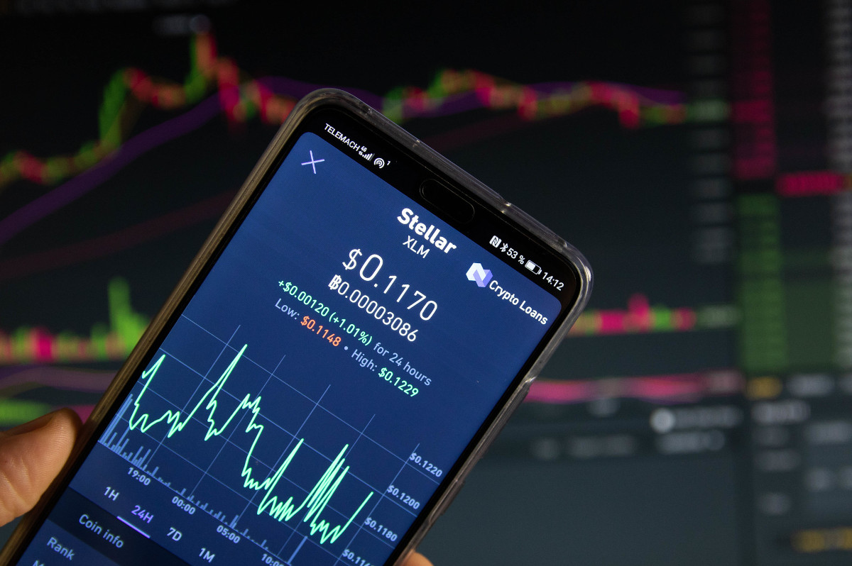 Stellar (xlm-usd) Cryptocurrency Over 39% Up In The Last 14 Days